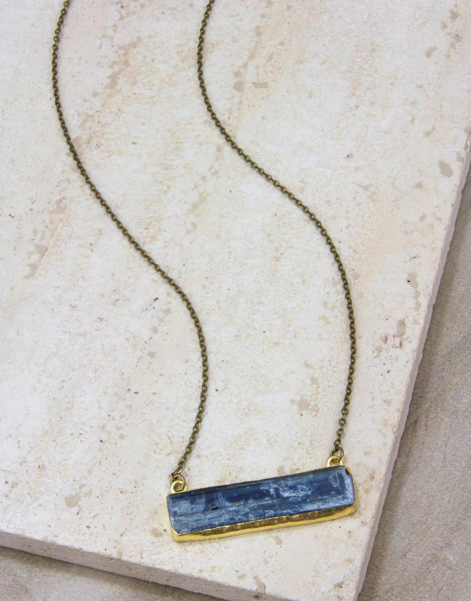 Au Naturale Kyanite Necklace