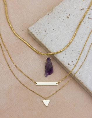 Heart Breaker Necklace Set