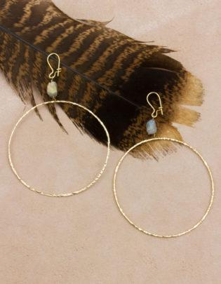 Dream BIG Labradorite Earrings