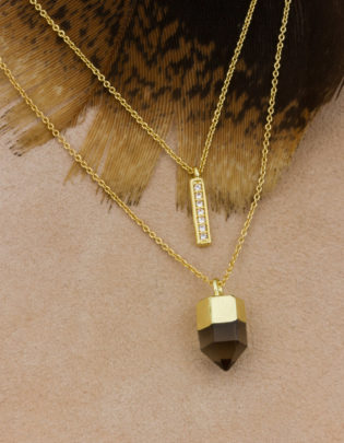 Up in Smoke Necklace Set