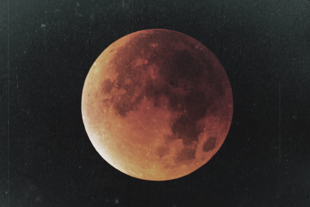 The 2018 Super Blue Blood Moon