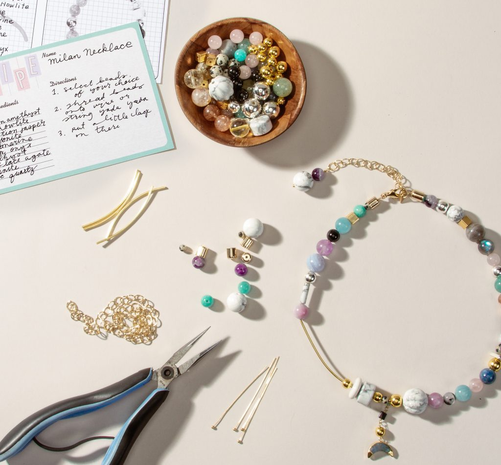Hand made components for jewelry design