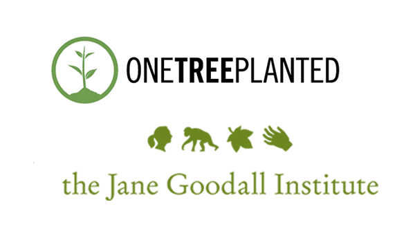 One Tree Planted and The Jane Goodall Institute